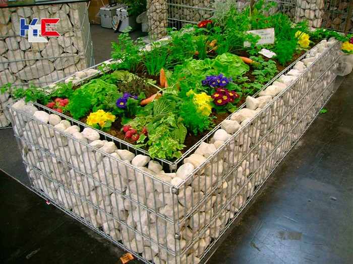 Габионы для цветов